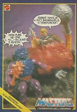 X1154 MASTERS - Spikor - He Man - Mattel - Pubblicità 1988 - Advertising