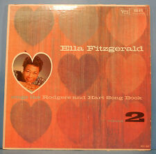 ELLA FITZGERALD SINGS THE RODGERS & HART SONG BOOK VOL 2 LP MONO 1959 VG/VG+!!