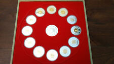 CANADA 15$ Complete Set of 12 Chinese Lunar Coins 1998-2009 - VERY RARE