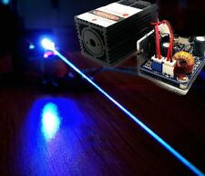 450nm 3500mW Blue Laser Module/Blue Beam/TTL 12V input Wood Carving/Burning