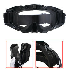 Black Goggles Glasses Motorcycle Motocross Racing ATV Dirt Bike Off Road Eyewear
