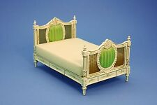Dolls House Quarlity Furniture  Wicker Upholstered Bedroom   JiaYi 8002