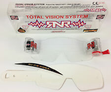 Fox airspec Motocross Mx Goggle Roll Off televisores sistema Enduro Mx Rip And Roll Rnr Nuevo
