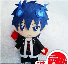 Japanese Cosplay Ao No Exorcist Okumura Rin DIY toy Doll keychain Anime