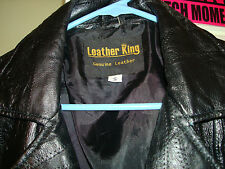 Leather King Leather Jacket - Women's Small