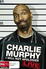 Charlie Murphy - I Will Not Apologize : Live comedy dvd brand new free postage!