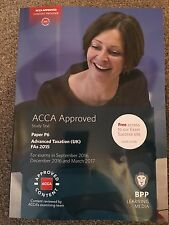 ACCA P6 UK Study Text For September 2016 Sitting Onwards (FA2015)