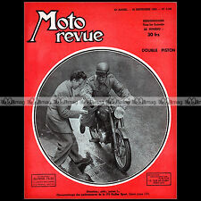 MOTO REVUE N°1102 ★ GUILLER 175 SPORT ★ NSU 250 MAX DOUBLE PISTON SIX JOURS 1952