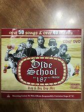 Old School 187 90's Rap Hip Hop Mixtape CD DVD Video 2pac Juicy J E-40 Too Short