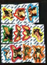 1984 Topps Gremlins  Trading Card Sticker Set 11 Stickers