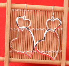 HOT 925 sterling silver plated jewelry earrings F277