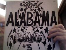 THE ALABAMA BAND #3 ; ALABAMA RECORDS  ALA78-9-1 ALABAMA 3RD LP