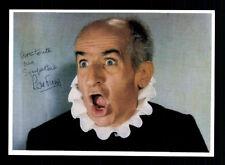 Louis de Funes Autogrammkarte Französische Film Legende