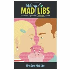Adult Mad Libs FIRST DATE by Mickie Matheis (2013, Paperback)