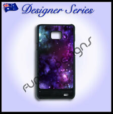 Designer Samsung S2 case hard cover Art Collection Purple Galaxy 30