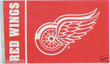 High Quality Detroit Red Wings NHL Licensed 3 x 5 Flag - Free Shipping