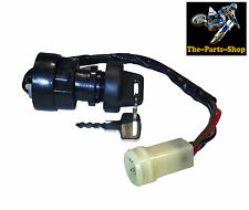 4 PIN QUAD ATV IGNITION BARREL SWITCH: YAMAHA YFM 225 250 350 WARRIOR 4X4 MOTO 4