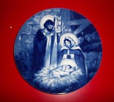 """AVON COLLECTIBLE PLATE - """" THE HOLY FAMILY """" - 1991 EDITION"""