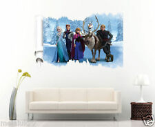 Disney For Frozen Wall Stickers Kid Room Decor Decals Decorations ELSA OLAF ANNA