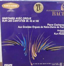 Jean Sebastien Bach Sinfonies Avec Orgue 33RPM 836.821 1111316LLE