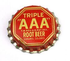 Vintage Triple AAA Root Beer Kronkorken USA 1950er Bottle caps