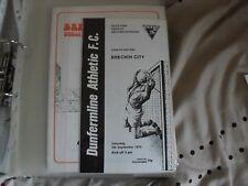 dunfermline athletic v brechin city 1976