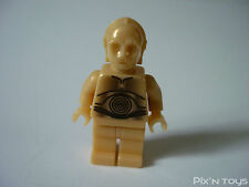 LEGO STAR WARS / Minifigures SW010 - C-3PO - Pearl Light Gold