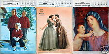 3x Mayers Schweizer Frauen- und Modeblatt Nr. 24+25+26/1953 mit Schnittmusterbog