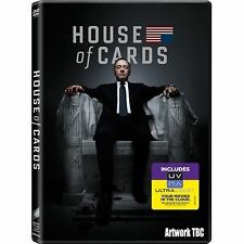 House of Cards - Series 1 - Complete (DVD, 2013, 4-Disc Set, Box Set)