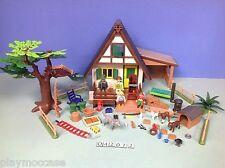 (O4207.2) playmobil Maison du garde forestier ref 4207
