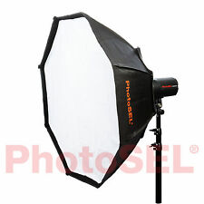 PhotoSEL sbsc120 120 cm Ottagonale Softbox Bowens S tipo Speed Ring Flash Studio
