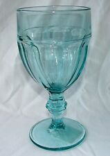 LIBBEY GIBRALTAR SPANISH GREEN WATER GOBLET(S) 10 OZ