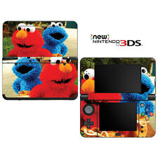 Vinyl Skin Decal Cover for Nintendo New 3DS - Sesame Street Elmo Cookie Monster
