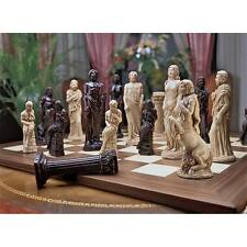 Gods of Greek Mythology Chess Set: Pieces Only Zeus Aphrodite Centaur Satyr