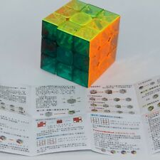 YJ Moyu Yulong Transparent Magic cube 3x3 Crystal Stickerless 3x3x3 speed cube