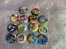 Party Bag Fillers X 12 POKEMON  BADGES STYLE A POKEBALL
