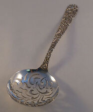 Repousse-Kirk Sterling Large Pea Spoon-9 1/8""