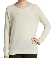 NEW Vince Pure Soft Cashmere Scoop Neck Sweater Size M