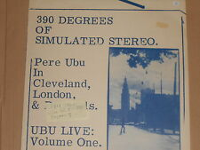 PERE UBU -Live Vol. 1 - 390 Degrees Of Simulated Stereo- LP