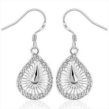 925 Sterling Silver Dangle Chandelier Hook Pierced Earrings L161