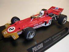 POLICAR SLOT. IT Lotus 72 Jochen Rindt car02a AUTO pista Car 1:32