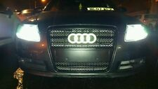 New 273mm Larger Audi 4d led badge white direct replacement