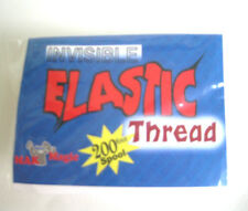 Elastic Invisible Thread 200 Foot Spool Float & Move Objects + Bonus Rising Card