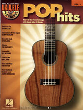 Pop Hits Ukulele Play-Along Chord Songbook with CD