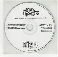 (GG503) Nick Thayer, The Pressure Point - 2008 DJ CD