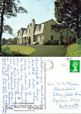 1980's THE RETREAT GLENESK EDZELL ANGUS SCOTLAND COLOUR POSTCARD