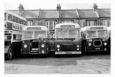 pt7498 - East Kent Buses at Herne Bay , Kent in 1968 - photograph 6x4