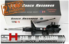 2 NEW FRONT GAS SHOCK ABSORBERS FOR MITSUBISHI CARISMA (DA)  /// GH-353090 ///