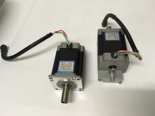 Lot of 3 NEMA 23 Stepper Motors - Single Stack, Single Shaft, EAD