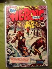 HEROIC COMICS #58 VF to VFNM 1950 TOTH PAINTED COVER